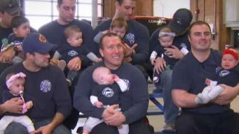 9 Milford Firefighters Welcome Babies in 1 Year