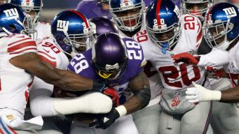 Giants Look Stuffed From Christmas in Loss to Vikings