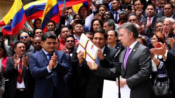 Colombian Rebels to Gather to Ratify Peace Accord