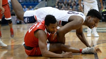 UConn Holds off Boston University for First Home Win