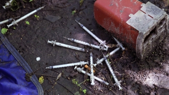'Raining Needles': Drug Crisis Creates Syringe Pollution