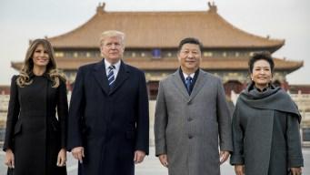 Trump to Push China on Trade, N. Korea During 2-Day Visit