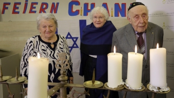 Holocaust Survivors Worldwide Celebrate Hanukkah