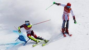 Switzerland Beats Austria in Olympic Debut of Team Event