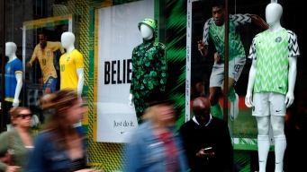 Nigeria's Bright, Trippy Uniforms a Hit Among World Cup Unis
