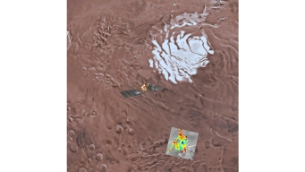 A Salty Lake Is Buried Beneath Mars, Scientists Say