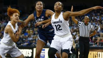 Collier Leads UConn to Rout of UCF
