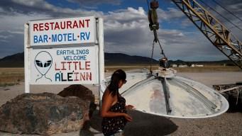 Communities Near Area 51 Brace for Influx of UFO Tourists