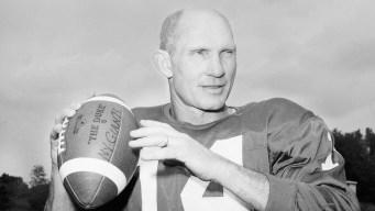 Hall of Fame QB YA Tittle Dies at 90