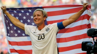 Abby Wambach Finds Sober Life, Wedded Bliss Since World Cup