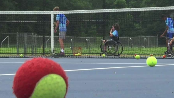 Adaptive Camp Helps Young Athletes With Physical Disabilities Play Sports