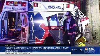 Ambulance Involved in Accident in Bridgeport