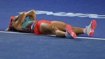 Kerber Upsets Williams for Australian Open Title