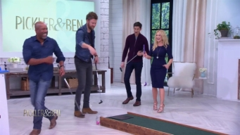 Country Stars Face Off in Mini-Golf Challenge
