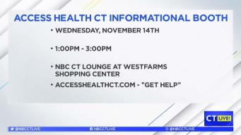 CT LIVE! Access Health CT's Informational Booth