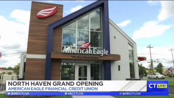 CT LIVE!: American Eagle Financial Credit Union's New Branch