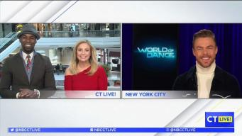 "CT LIVE!: Derek Hough Talks ""World of Dance"""