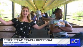 CT LIVE!: Essex Steam Train & Riverboat