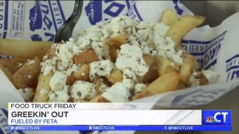 CT LIVE!: Food Truck Friday - Greekin' Out