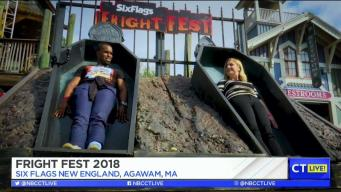 CT LIVE!: Fright Fest 2018 at Six Flags New England