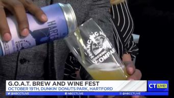 CT LIVE!: G.O.A.T. Brew and Wine Fest