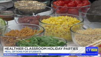 CT LIVE!: Have a Healthier Classroom Holiday Party