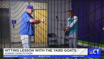 CT LIVE!: Hitting Lesson with the Yard Goats