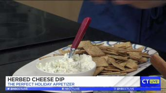 CT LIVE!: Homemade Herbed Cheese Dip