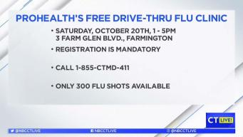 CT LIVE!: How and Where to Get Your Flu Shot with ProHealth