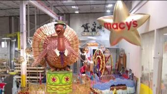 CT LIVE!: How the Macy's Thanksgiving Day Parade Floats Travel to the Starting Line