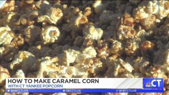 CT LIVE!: How to Make Fresh Caramel Corn
