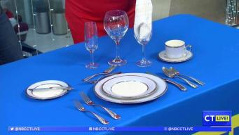 CT LIVE!: How to Properly Set Your Holiday Table