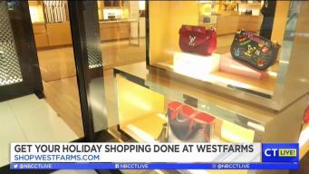 CT LIVE Jimmy Starts His Holiday Shopping at Westfarms