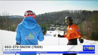 CT LIVE!: Jimmy's 2nd Ski Lesson