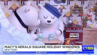CT LIVE!: Macy's Herald Square Holiday Windows