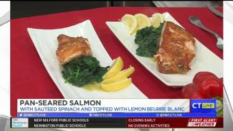 CT LIVE!: Pan-Seared Salmon