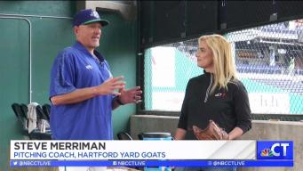 CT LIVE!: Pitching Lesson with the Hartford Yard Goats