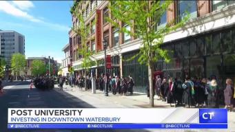 CT LIVE!: Post University's Partnership with Waterbury