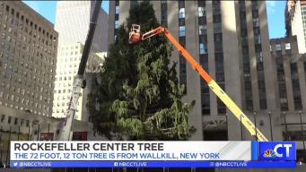 CT LIVE!: Rockefeller Center Tree Lighting