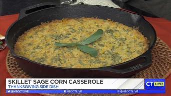 CT LIVE!: Skillet Sage Corn Casserole