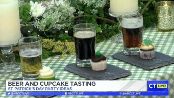 CT LIVE!: St. Patrick's Beer and Cupcake Tasting