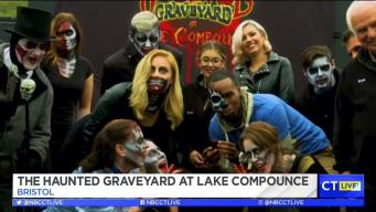 CT LIVE!: The Haunted Graveyard at Lake Compounce
