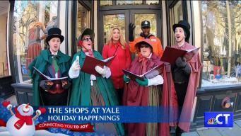 CT LIVE!: The Shops at Yale - Holidays 2019