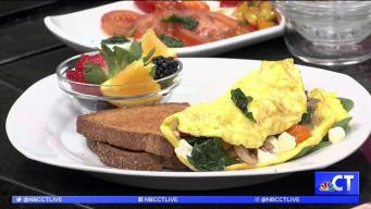 CT LIVE!: Veggie Omelet for Hot Breakfast Month
