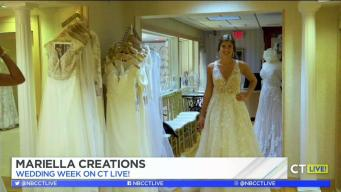 CT LIVE!: Wedding Week - Gorgeous Gowns at Mariella Creations