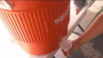 Camps Work to Keep Kids Cool During Heat Wave
