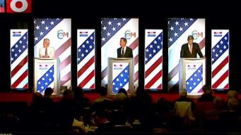 Candidates Spar in Final Debate of Governor's Race