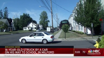 Car Hits Teen on Way to School in Milford