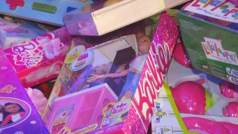 Thousands of Toys Donated for Toy Drive