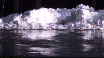 Cold Temps Create Icy Conditions in Southington
